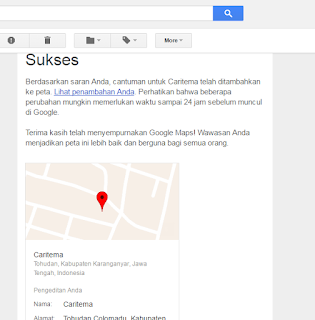 Cara Menambahkan Tempat Yang Belum Ada Di Google Maps