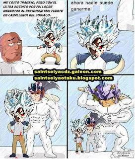 Memes: Goku ultrainstinto final vs Tatsumi Ichi de Hidra y Jabu de Unicornio.