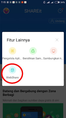 cara share file dari android ke pc