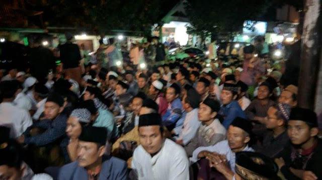 40 Hari Wafatnya Mbah Moen, Lautan Manusia di Komplek Ponpes Al Anwar Sarang Rembang