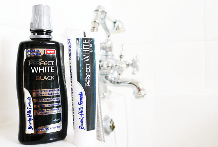 Beverly Hills Formula Perfect White Black Toothpaste & Mouthwash review