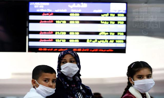 تونس: رسمي إقرار إجبارية ارتداء الكمامات و 3 دول تغادر المنطقة الخضراء