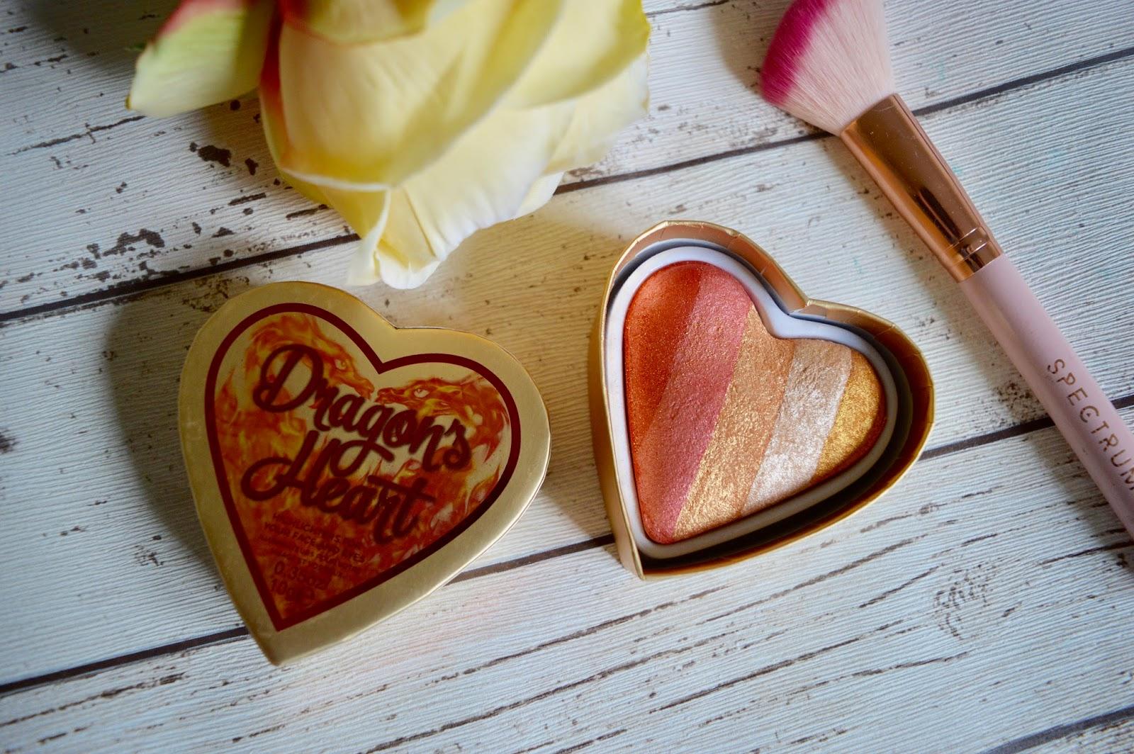 I heart makeup dragons heart review