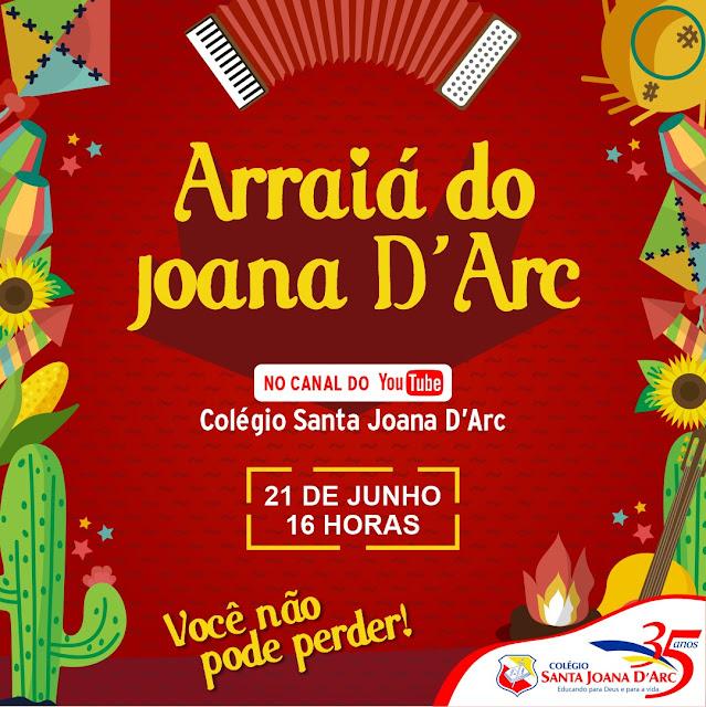 CSJD realiza festa junina online com alunos e familiares.