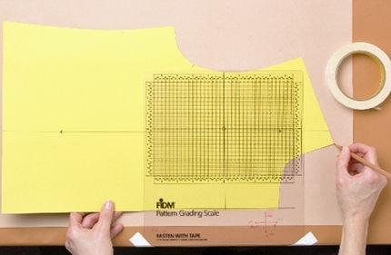 Manual pattern grading