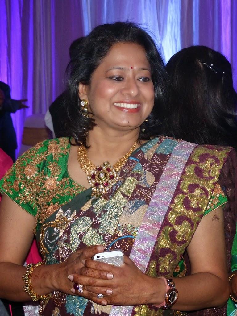 Indian woman wearing beautiful jewelry