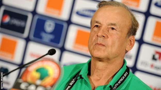 Gernot Rohr, Super Eagles New Coach