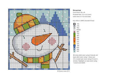 Durene Jones Cross Stitch Designs pattern chritsmas
