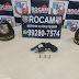 PMAM detém homem por porte ilegal de arma de fogo na zona leste