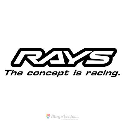 Rays Wheels Logo Vector
