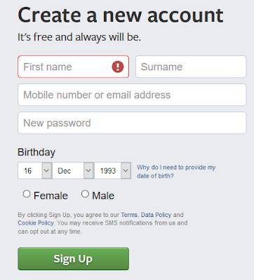New Facebook Account Registration Guide | Set Up New Facebook Account