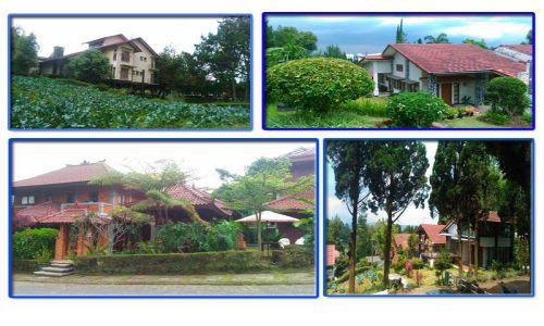 Ragam Villa Di  Istana Bunga Lembang