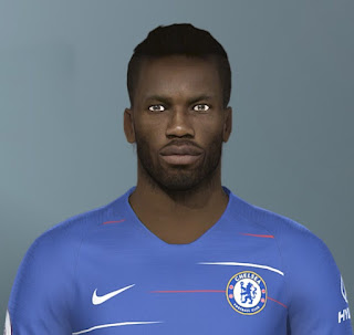 PES 2019 Faces Didier Drogba by Jarray & The White Demon