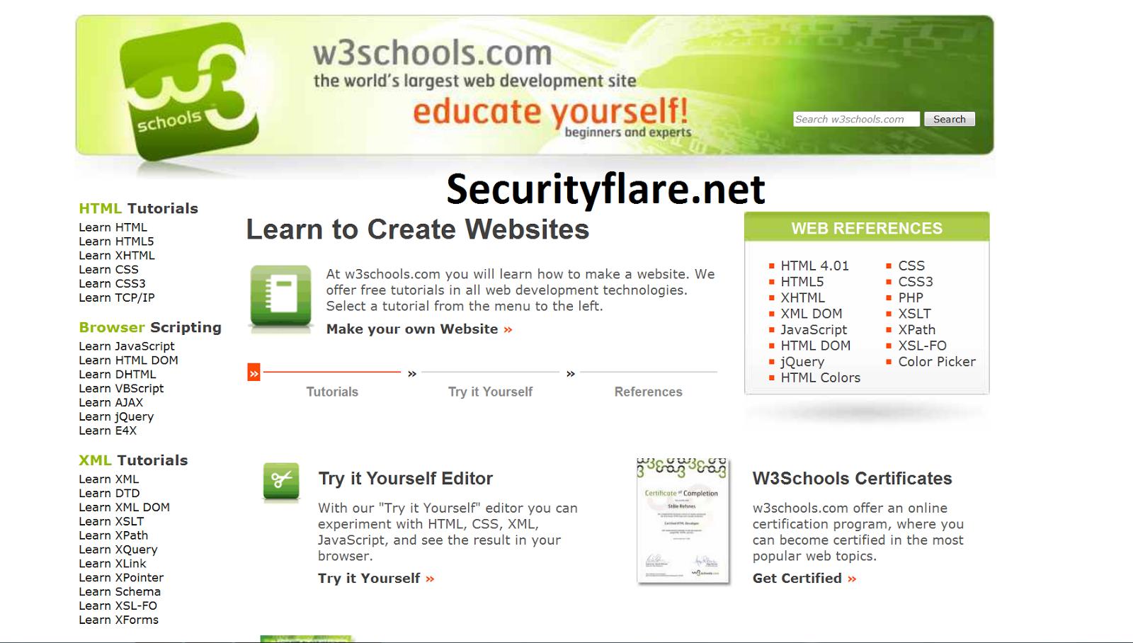 W3schools Javascript
