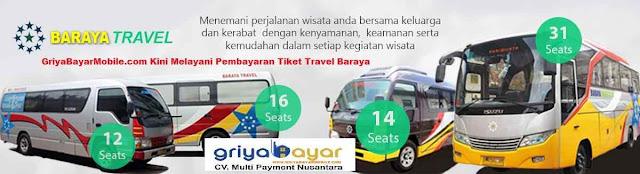 Buka Loket Baraya Travel dengan Mudah Bersama Griya Bayar Mobile