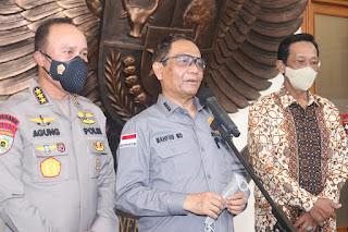 Mahfud MD Instruksikan Aparat Respon Laporan Pungli dengan Baik, Pelapornya Jangan Dikriminalisasi