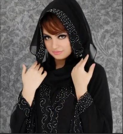 Latest 2013 Hijabs Abayas Fashion Point