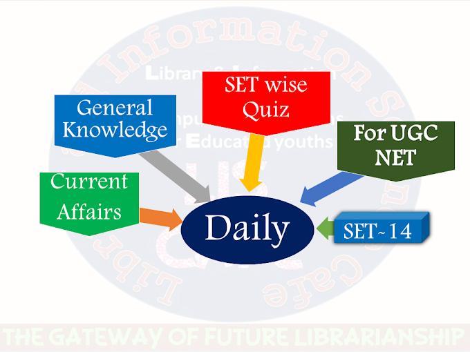 Daily Current Affairs Quiz SET-14 for UGC NET exam-2021