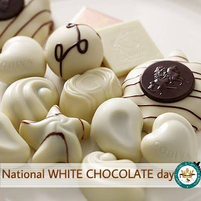 National White Chocolate Day Wishes Images