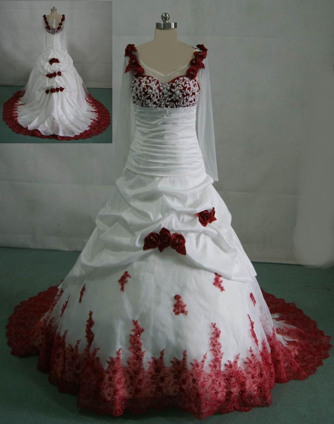 Red Wedding Gown: Ideas For Wedding: Wedding Red Decoration Ideas