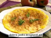Jablková omeleta - recept