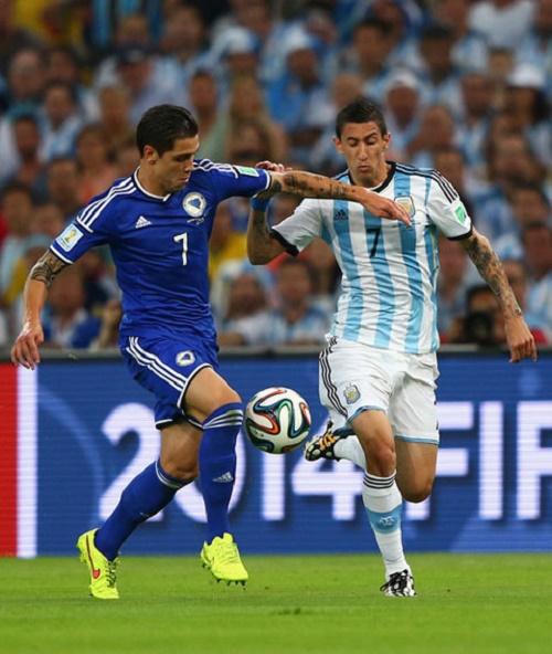 Di Maria chính là ngôi sao của đội tuyển Argentina