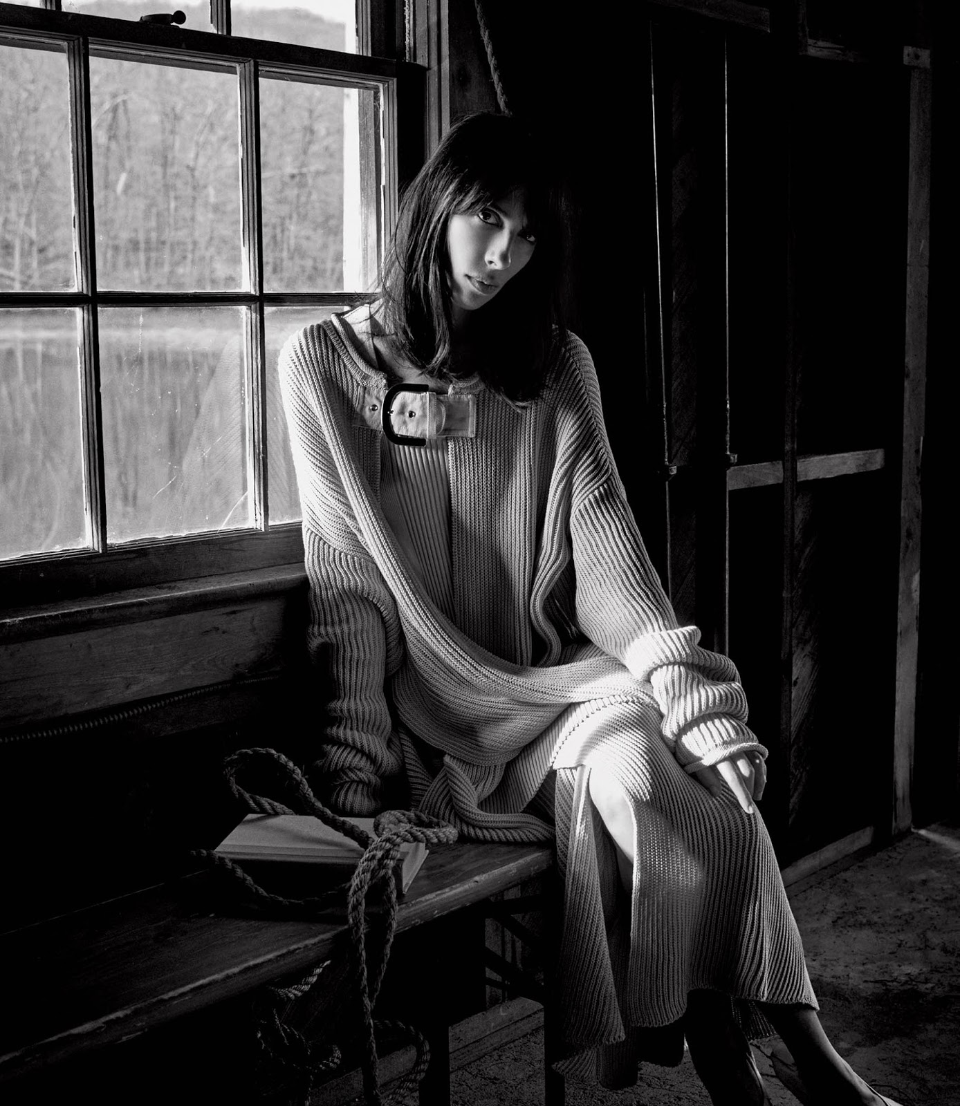 Warming Trend Spring Knits: Jamie Bochert By Christian