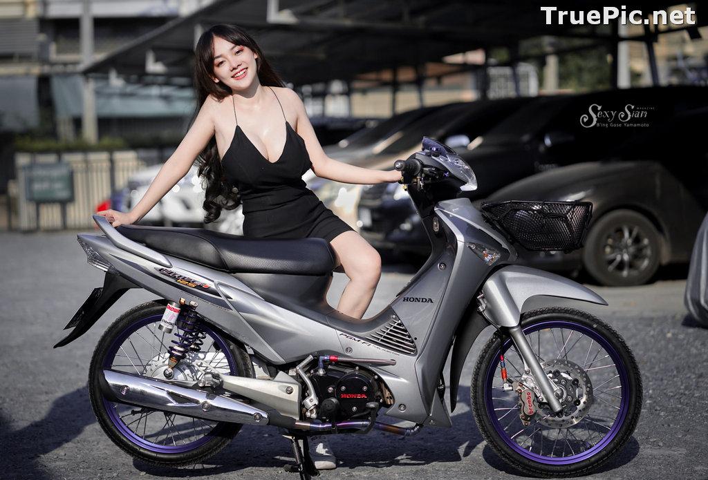 Image Thailand Model - จุ๊ปเปอร์ จุ๊ป - Sexy Black Car Girl - TruePic.net - Picture-7