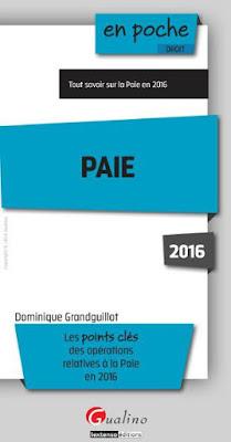 Télécharger Livre Gratuit Paie pdf
