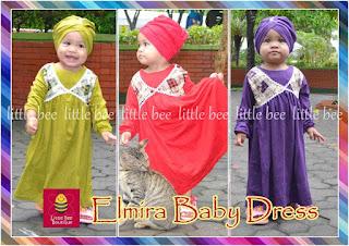 Baju Muslim Untuk Bayi Umur 1 Tahun