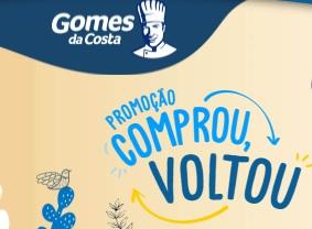 Cadastrar Promoção Comprou Voltou Gomes da Costa