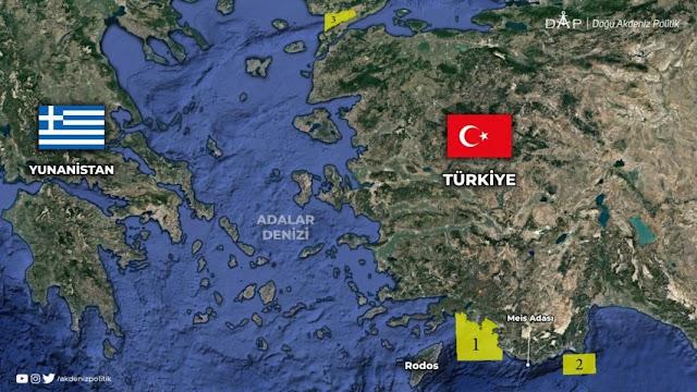 Τουρκική NAVTEX για ασκήσεις με πυρά ανάμεσα σε Ρόδο και Καστελλόριζο