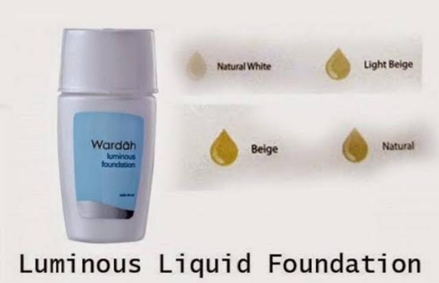 Foundation Luminous Liquid untuk kulit berminyak