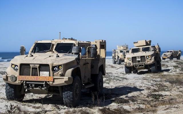 Ενημέρωση ΓΕΣ για μεταχειρισμένα Cougar MRAP και τακτικά οχήματα JLTV από ΗΠΑ (ΦΩΤΟ)