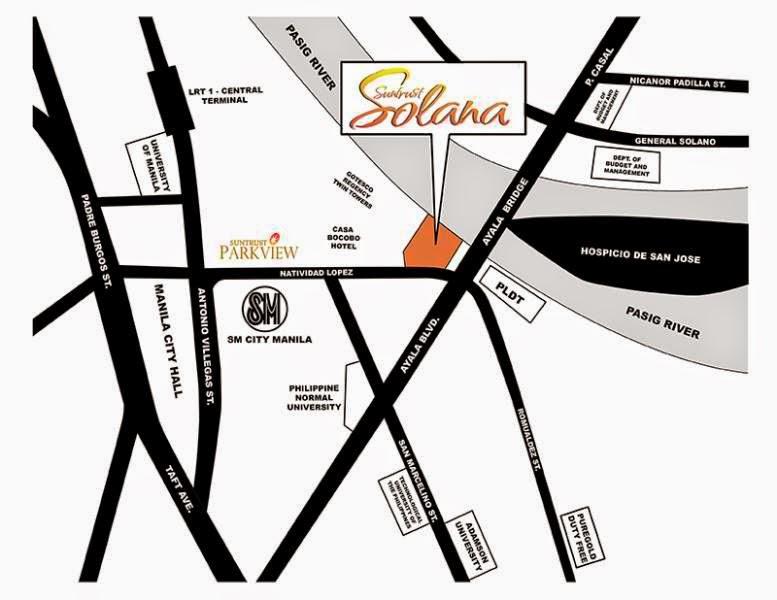 Solana Condominium Site Location