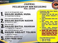 Jadwal SIM Keliling Blitar Juli 2019