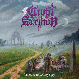 "Το τραγούδι των Crypt Sermon ""Christ is Dead"" από το album ""The Ruins of Fading Light"""
