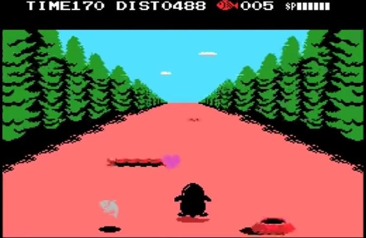 Penguin Adventure - versión MSX
