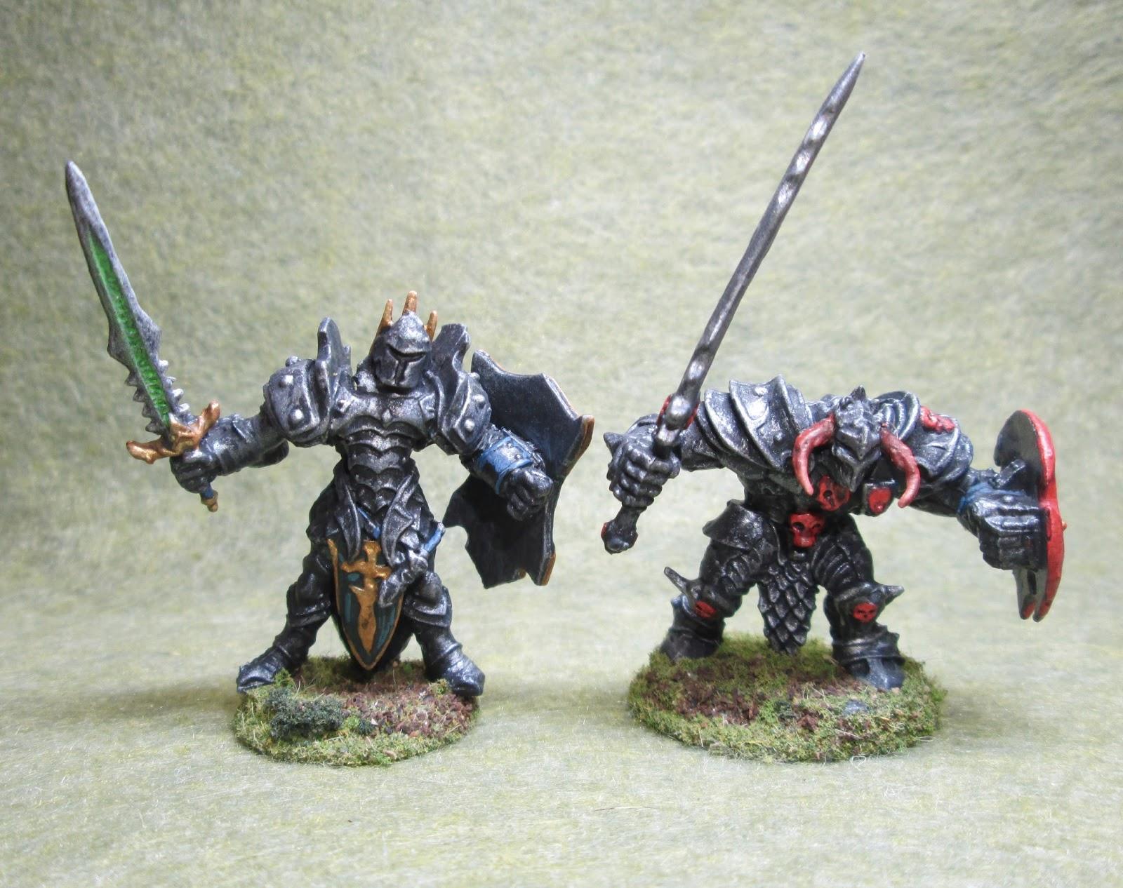 Mango Timur 77148 And Ragnaros 77150 Bones Knights