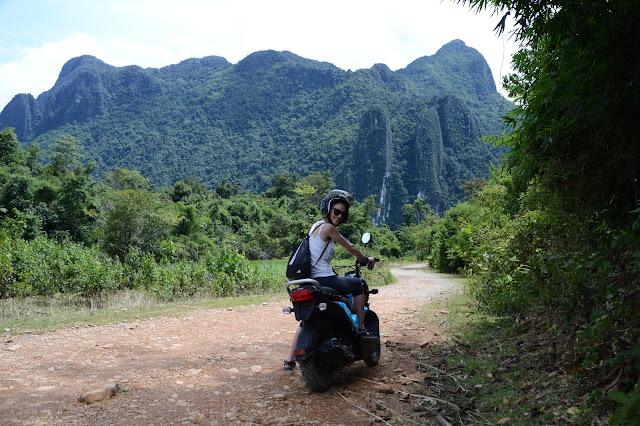 Sudeste asiático en moto