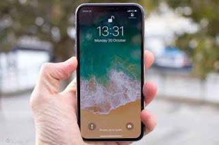Tampak Smartphone iphone X 2019