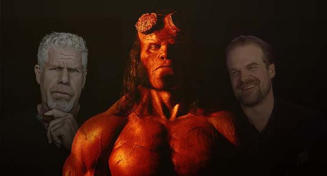 Pelakon Hellboy Ditukarkan (2019)