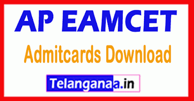 APEAMCET 2019 Admitcards Download