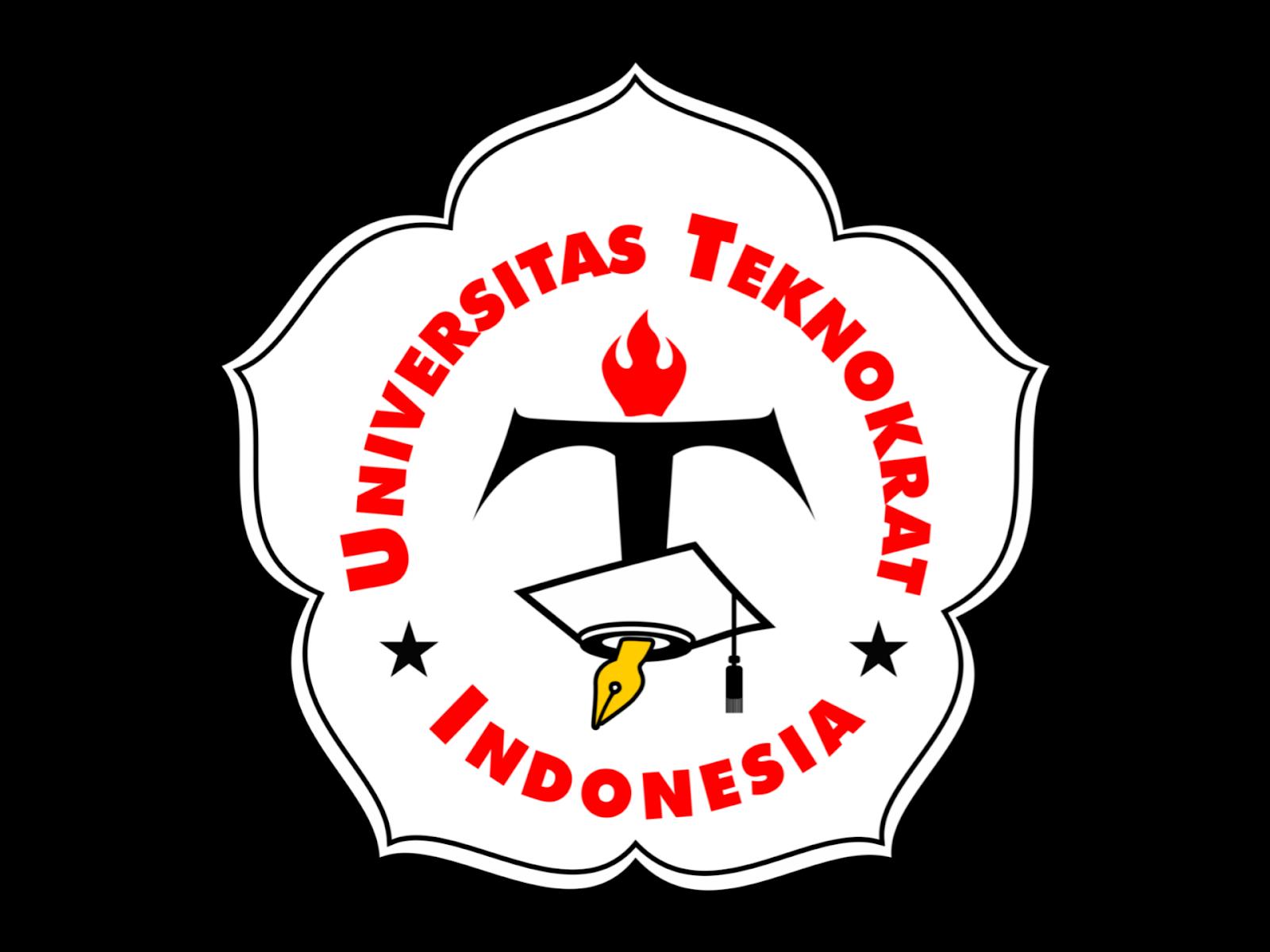 Logo Universitas Teknokrat Indonesia Format PNG