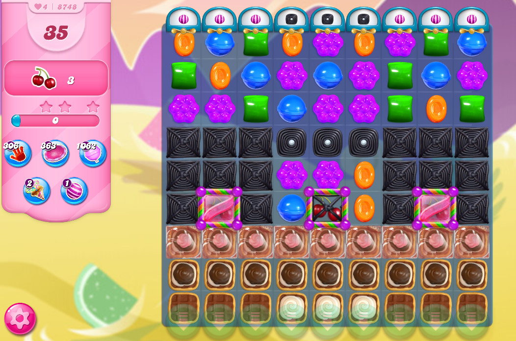 Candy Crush Saga level 8748