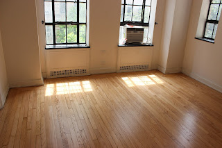 White Oak Wood Floor Refinishing Natural  Color