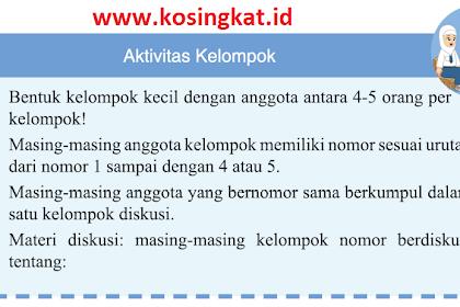 Kunci Jawaban IPS Kelas 7 Halaman 137 Aktivitas Kelompok