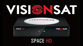 VISIONSAT SPACE HD NOVA ATUALIZAÇÃO V1.76 - 12/02/2021
