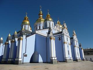 Киев. Михайловский Златоверхий монастырь