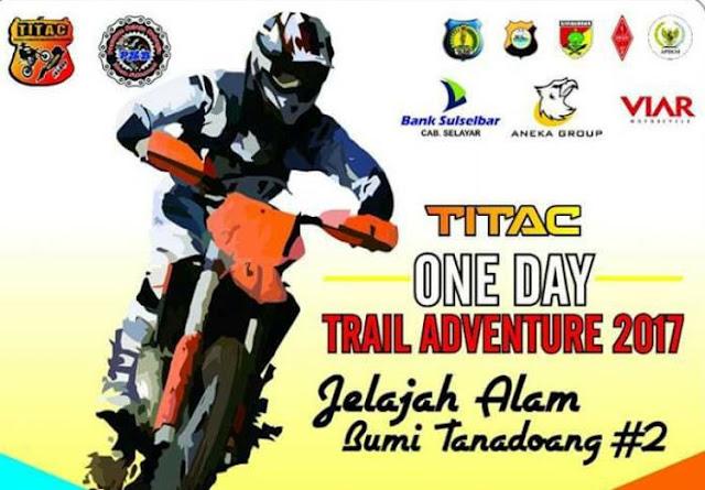 Bank Sulselbar, Ikut Sponsori Event TITAC One Day 2017, Jelajah Alam Tanadoang
